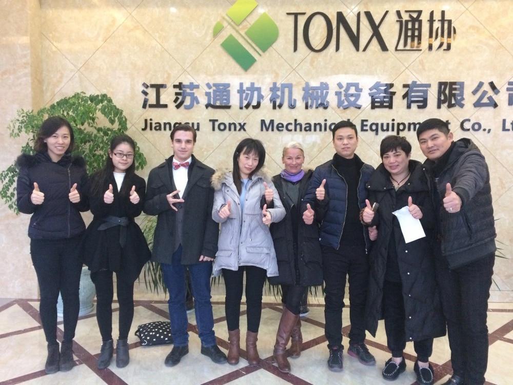 Besuch des Unternehmens Tonx in Nantong, China Doreen Anette Ullrich
